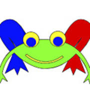 Frederic The Frog Poster