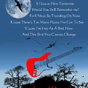 Free Bird Poster by Michael Damiani