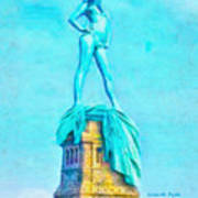 Free Liberty - Pa Poster