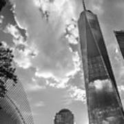 Freedom Tower Bw Poster