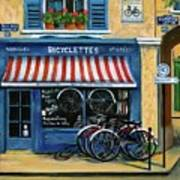 French Bicycle Shop Poster