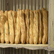 French Bread In Roussillon Poster