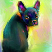 French Bulldog Painting 4 Poster
