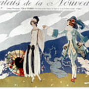 French Fashion Ad, 1923 Poster