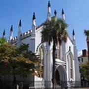 French Huguenot Church In Charleston Poster