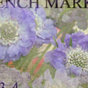 French Market Series R Poster
