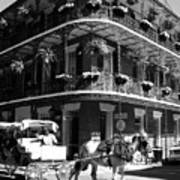 French Quarter Carriage Ride Poster
