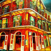 French Quarter Corner Poster