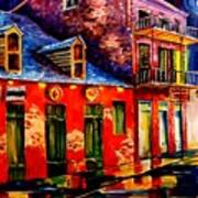 French Quarter Dazzle Poster