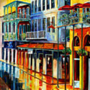French Quarter Sunrise Poster