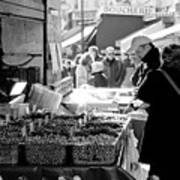 French Street Market Poster