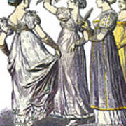 French Womens Fashion, 1808-09 Poster
