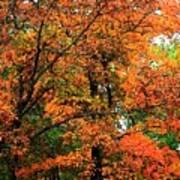 Fresco Autumn Diptych Left Poster