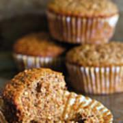 Freshly Baked Muffins Poster