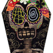 Frida In A Coffin Poster