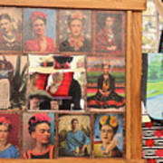 Frida Kahlo Display Picts Poster