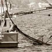 Friendly Fisherman Poster