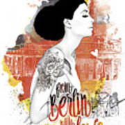 From Berlin With Love Poster