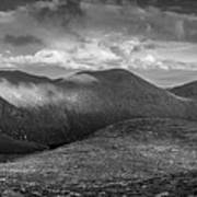 From Slieve Bearnagh Panorama To The South Poster