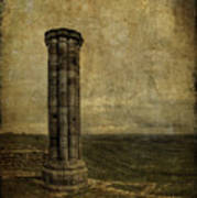 From The Ruins Of A Fallen Empire Poster by Evelina Kremsdorf