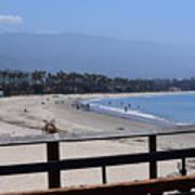 From The Santa Barbara Pier Poster