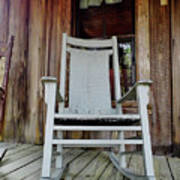 Front Porch Rocker Poster