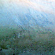 Frost On North Facing Window Poster
