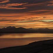 Frostakjoahals Ridge Iceland 1234 Poster