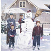 Frosty In Fifty Poster