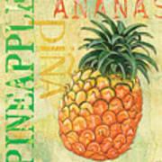 Froyo Pineapple Poster by Debbie DeWitt