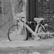 Frozen Bike Poster