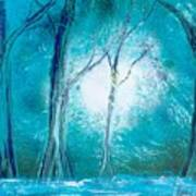 Frozen Forest Poster