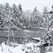 Frozen Lake 3 Poster