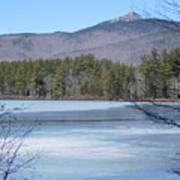 Frozen Lake Chocorua Poster