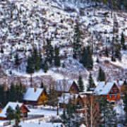 Frozen Village V2 Poster