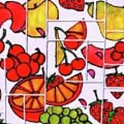 Fruit Fractals Poster