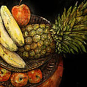 Fruit In The Round Poster