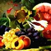Fruit Still-life Catus 1 No. 1 H A Poster