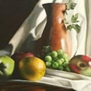 Fruit Still Life Poster by Lori Keilwitz