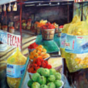 Fruitstand Rhythms Poster