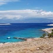 Ftenagia Beach On Halki Poster
