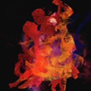 Fuego Poster by M Montoya Alicea