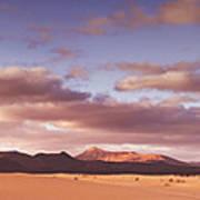 Fuerteventura Desert Landscape Poster