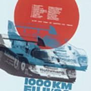 Fuji 1000 Kilometres Porsche 1984 Poster