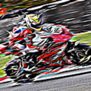 Fullspeed On Two Wheels 6 Poster