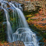 Fulmer Falls - Childs State Park Poster