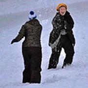 Fun In The Snow Poster