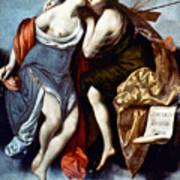 Furini: Muses, 17th Century Poster
