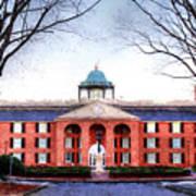 Furman University Judson Hall  Poster