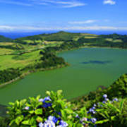 Furnas Lake Poster
